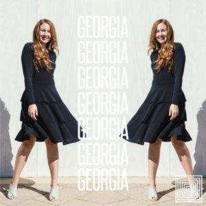 NWT Lularoe Georgia Dress Black Medium